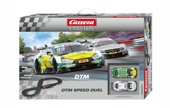 circuit-slot Carrera DTM Speed Duel