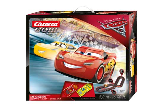 circuit-slot Carrera Cars 3 Fast Friends