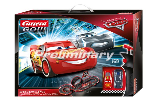 circuit-slot Carrera Disney Pixar Cars Speed Challenge