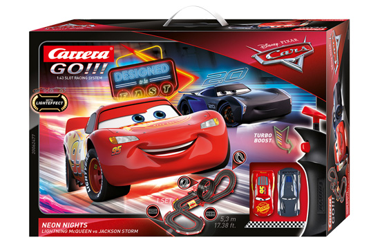 circuit-slot Carrera Disney Pixar Cars Neon Nights