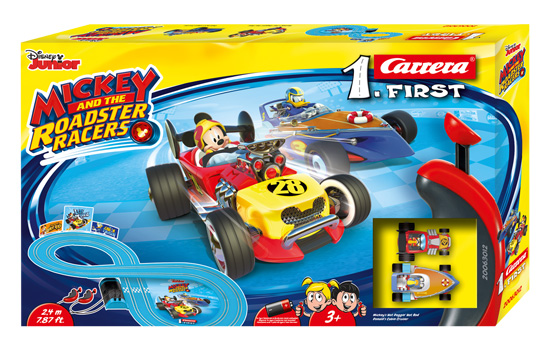 circuit-slot Carrera First Mickey Roadsters Racers