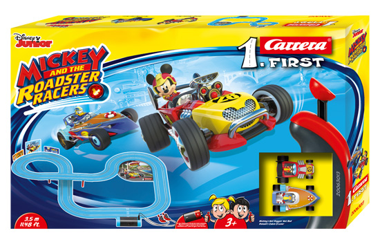 circuit-slot Carrera First Mickey Roadster Racers