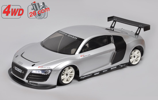 voiture FG Chassis 4wd 530 + car. Audi R8