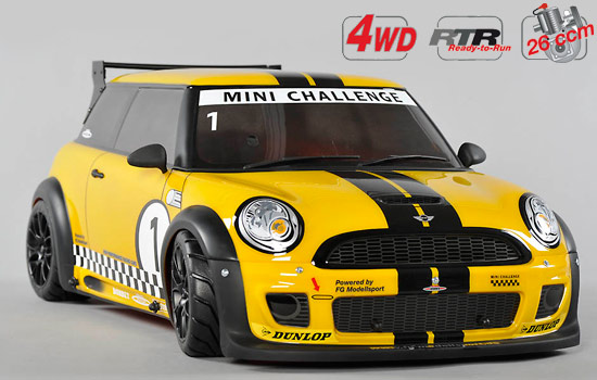 voiture FG Chassis 4wd 510 RTR + car. Trophy