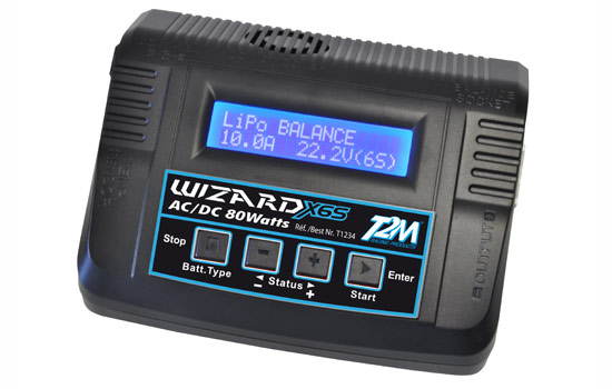 chargeur T2M Wizard X6S 80W