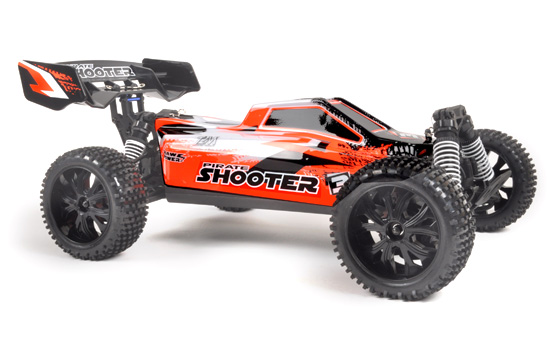 voiture T2M Pirate Shooter orange