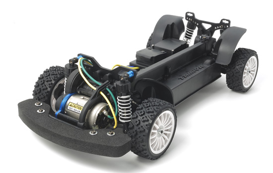 voiture Tamiya Chassis XV-01 Long Damper Spec