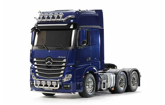 camion Tamiya Mercedes Actros 3363 6x4 Gigaspace