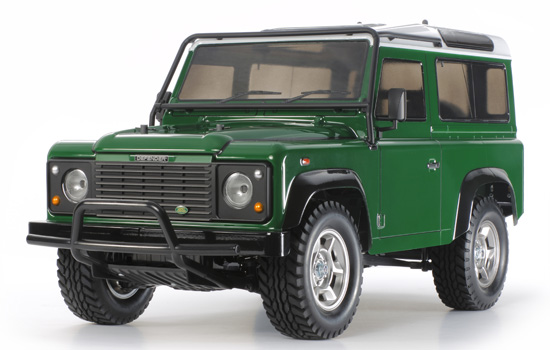 voiture Tamiya Land Rover Defender 90 CC01